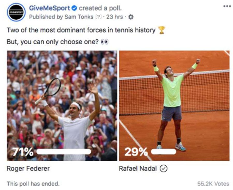 Roger Federer vs Rafael Nadal trong mắt fan cuồng tennis: Ai là Tấm, ai là Cám?