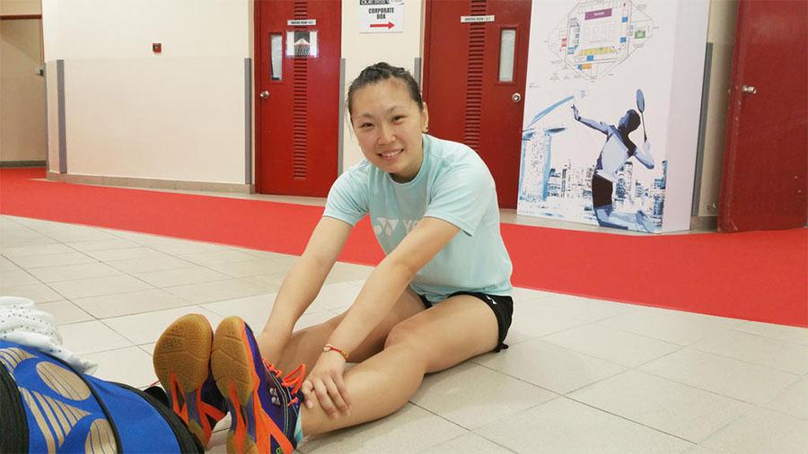 Cô gái Trung Quốc khao khát biến cầu lông thành một nghề ở Mỹ