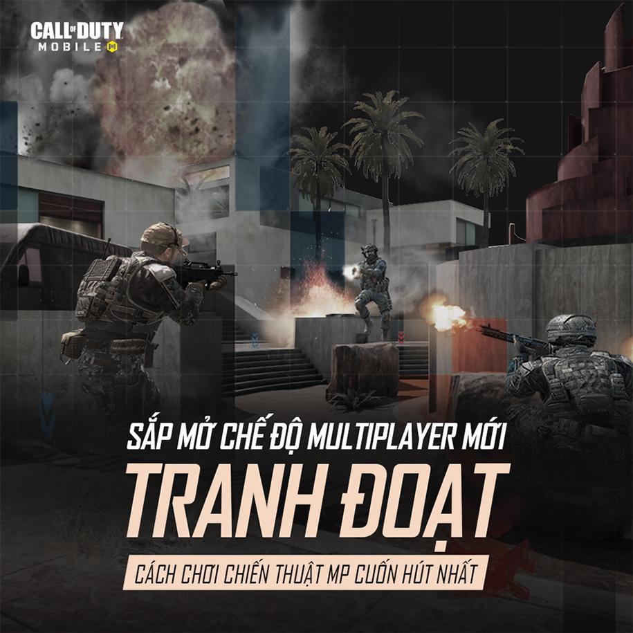 Call of Duty: Mobile Việt Nam ra mắt chế độ chơi mới: Tranh Đoạt