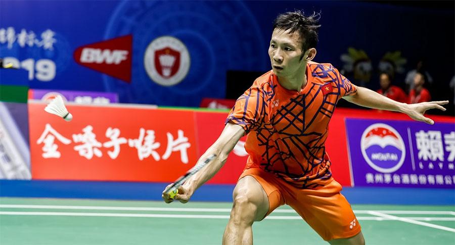 Nguyễn Tiến Minh góp ý về tập luyện kỹ thuật cầu lông