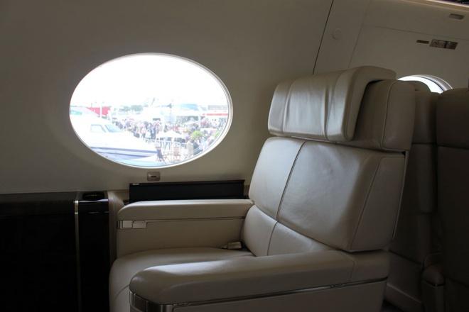 Cận cảnh máy bay Gulfstream G650 trị giá hơn 1.500 tỷ đồng của Ronaldo