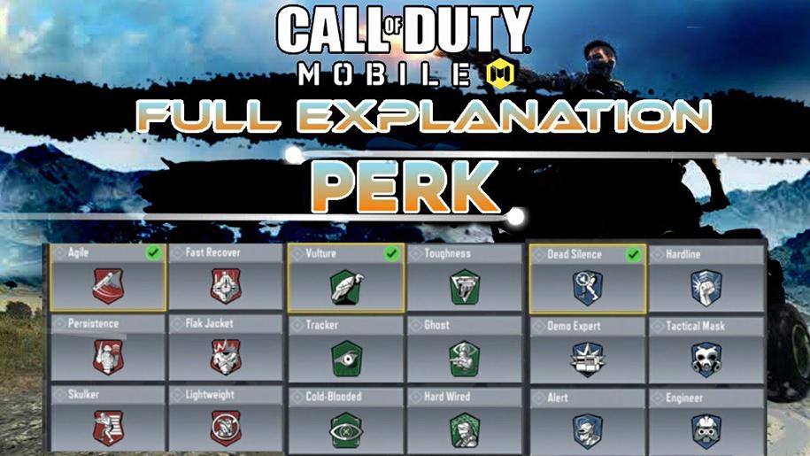 Tìm hiểu về Perks trong Call of Duty Mobile