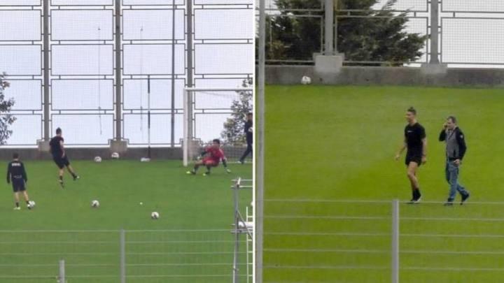 Ronaldo hào phóng tặng quà cho đồng nghiệp tập cùng ở quê nhà Madeira
