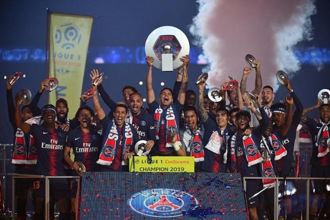 PSG áp sát kỷ lục mọi thời đại sau khi được trao chức vô địch