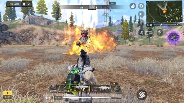 Hướng dẫn chế độ Battle Royale trong Call of Duty Mobile