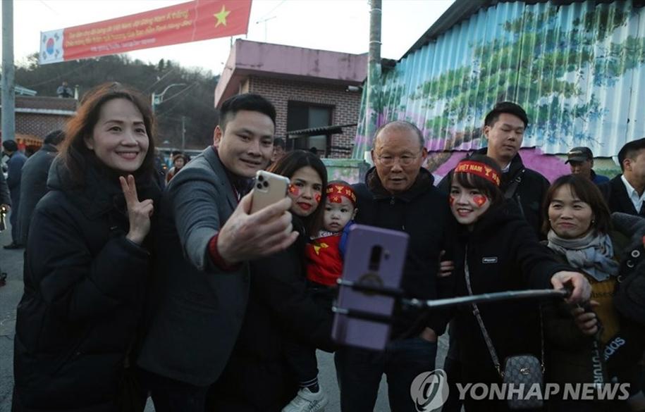 HLV Park Hang Seo xếp thứ 38/40 người quyền lực ở Hàn Quốc