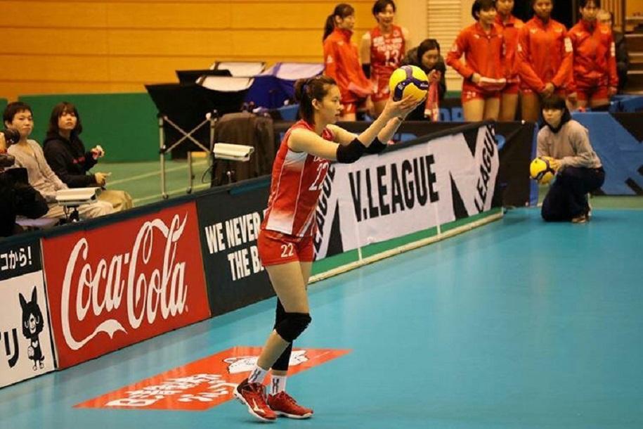 Khủng long Thanh Thúy tiếp tục được CLB Nhật Bản trải thảm đỏ mời thi đấu