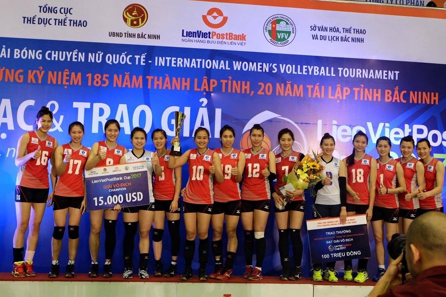 Nhìn lại siêu kỷ lục 10 lần vô địch quốc gia của Thông tin Liên Việt Postbank