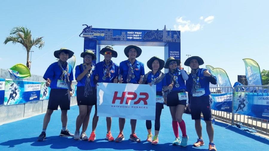Những runner Hải Phòng vui với mục tiêu: Chạy vui vẻ, chạy hạnh phúc