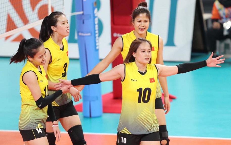Soi chiều cao các nữ cầu thủ bóng chuyền Việt Nam