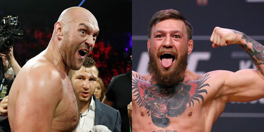 Conor McGregor tặng rượu Tyson Fury trước thềm đại chiến Deontay Wilder