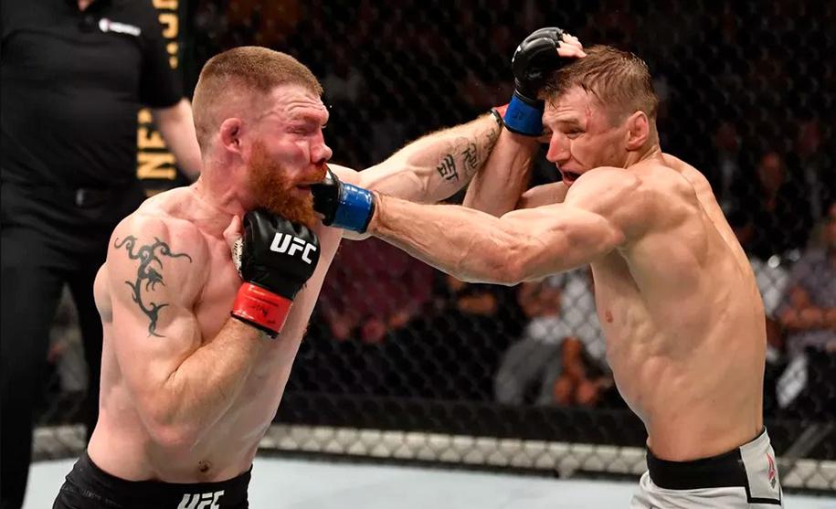 Giới võ sĩ phản đối kết quả trận Dan Hooker vs Paul Felder