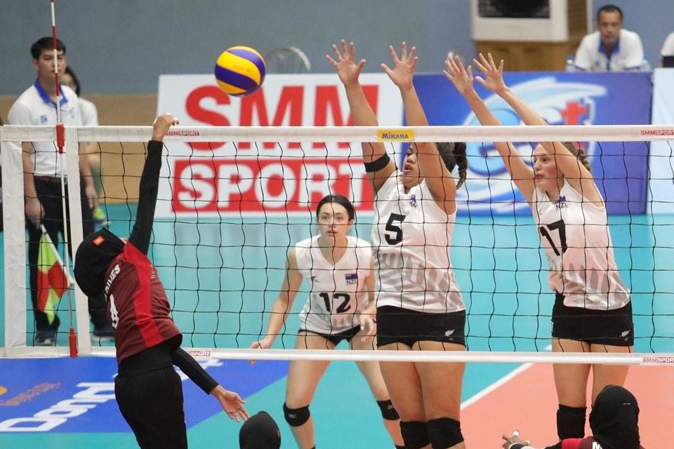 Giải vô địch bóng chuyền nữ U23 châu Á năm 2019: Không có bất ngờ nào xảy ra ở vòng 2
