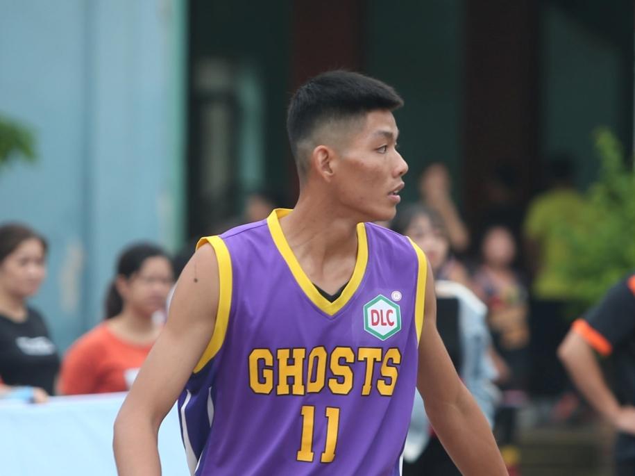 Trần Tiến Dũng là một tài năng sáng giá của bóng rổ Lào Cai. Ảnh: Ghost Club