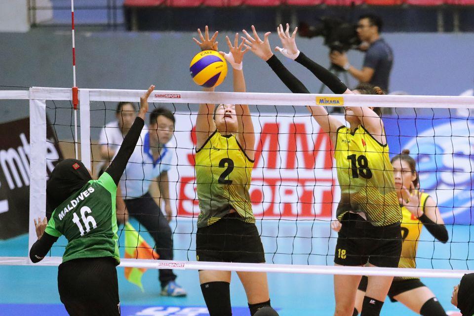 Giải vô địch bóng chuyền nữ U23 châu Á năm 2019: Màn dạo chơi của chủ nhà Việt Nam