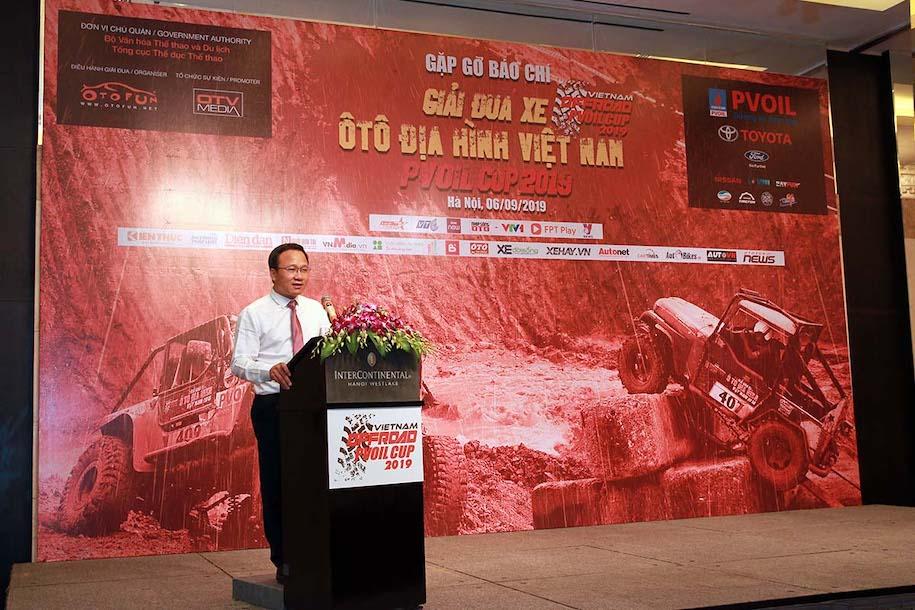 Giải Đua xe Ôtô Địa hình Việt Nam 2019 hướng tới mô hình chuyên nghiệp