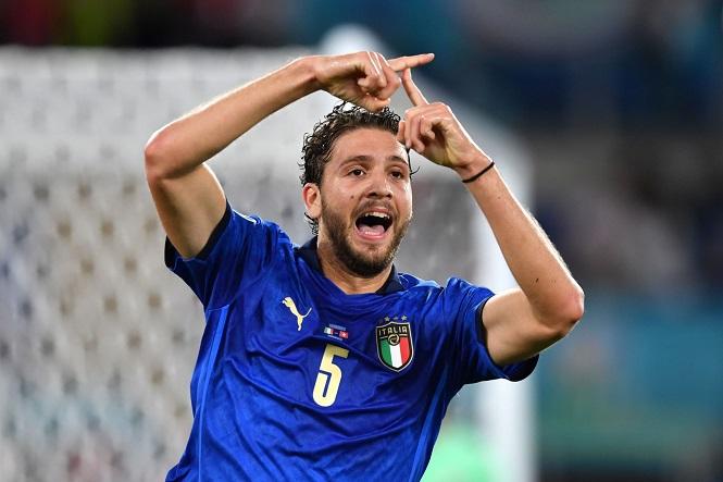 """Italia ghi bàn thắng mang """"thương hiệu"""" Sassuolo tại EURO 2021"""