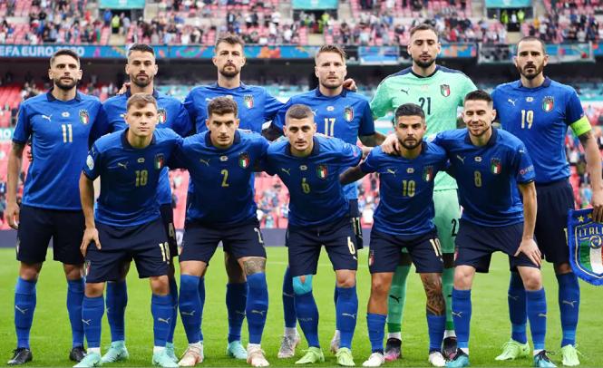 Italia thăng tiến ngoạn mục trên BXH FIFA nhờ EURO 2021