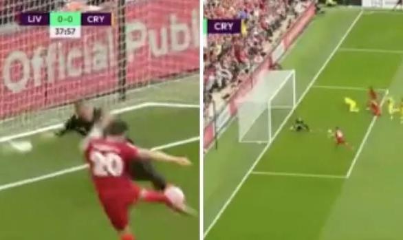 Jota bỏ lỡ cơ hội khó tin cho Liverpool từ cự ly 4 mét