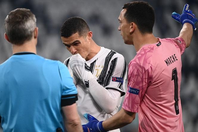 Ronaldo chịu kết cục buồn ở Champions League 3 năm liên tiếp