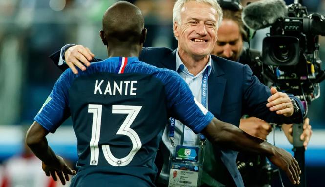 """HLV tuyển Pháp """"dự đoán"""" về khả năng Kante đoạt Quả bóng vàng"""