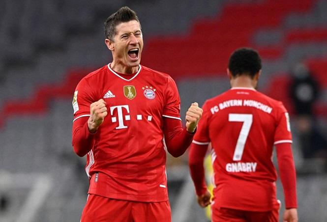 Tiền lương của Lewandowski ở Bayern chỉ kém 2 ngôi sao Ngoại hạng Anh