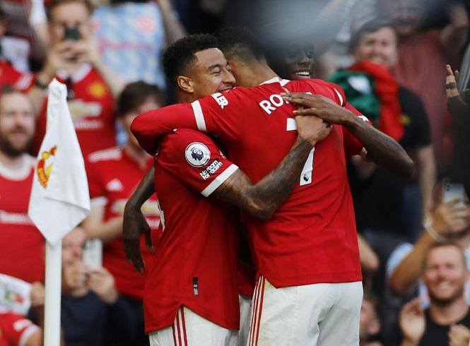 Ronaldo và Lingard cùng ghi bàn cho MU, giấc mơ thành hiện thực