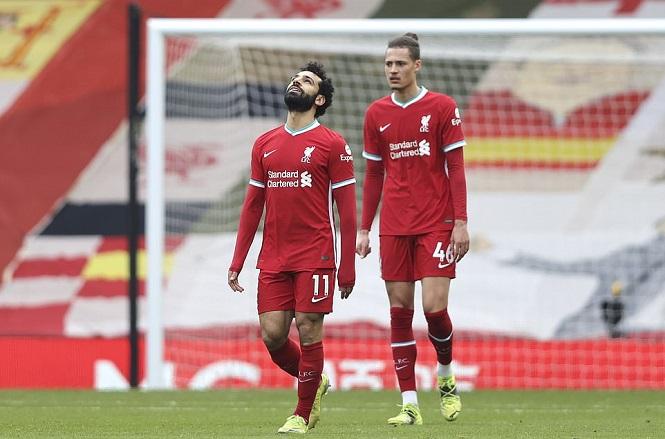 Liverpool lập kỷ lục đáng xấu hổ trên sân nhà