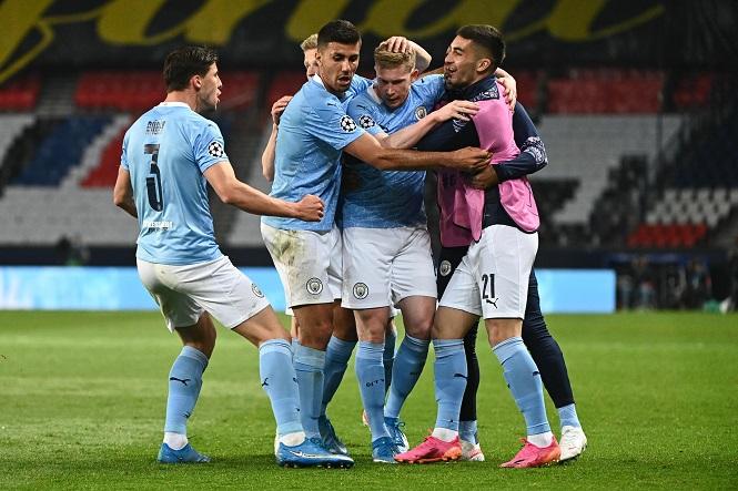 Man City lập kỷ lục thắng liên tiếp để đả bại PSG ở Champions League