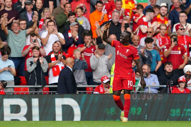 Mane lập thành tích độc nhất vô nhị ở Ngoại hạng Anh với Liverpool