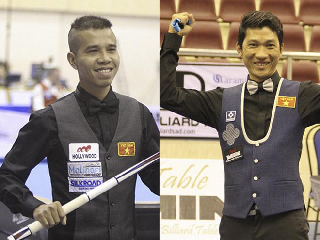 Đại chiến Billiards Việt Nam: Đình Nại ngược dòng ấn tượng thắng Trần Quyết Chiến