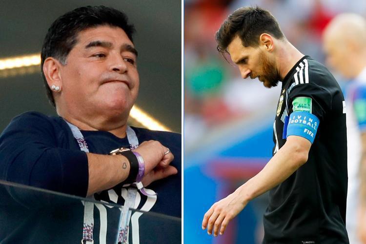 Gia đình Messi đăng đàn đáp trả những chỉ trích của Diego Maradona - Ảnh 1.