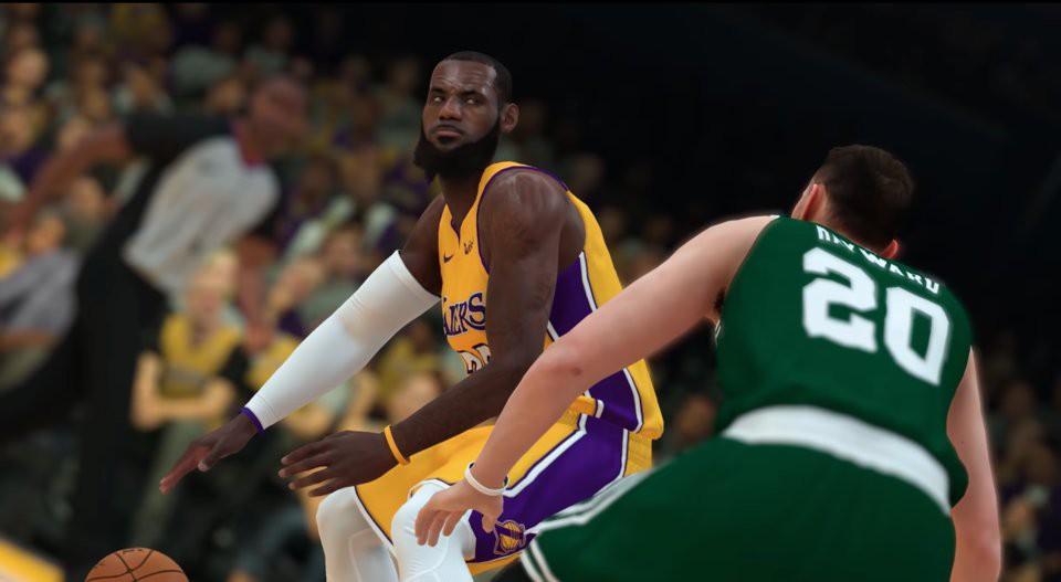 Top 10 ngôi sao có điểm số cao nhất NBA 2K19 - Ảnh 10.