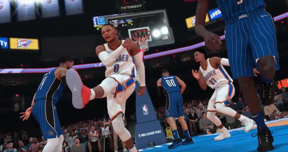 Top 10 ngôi sao có điểm số cao nhất NBA 2K19 - Ảnh 2.