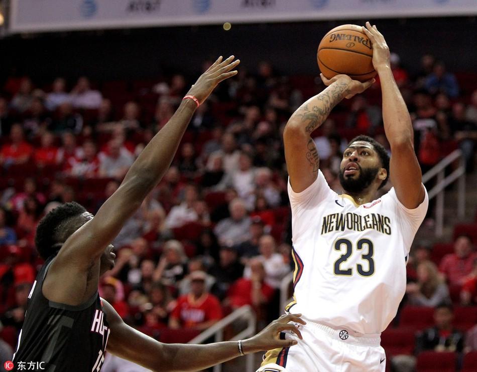 Anthony Davis củ hành cả Houston Rockets trong ngày ra quân như muốn dằn mặt các đội chơi small-ball - Ảnh 4.