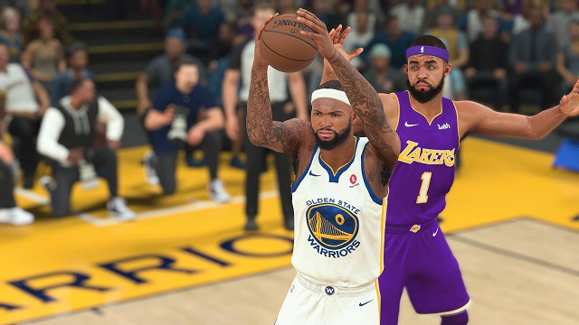 Triều đại Golden State Warriors bá đạo thế nào trong NBA 2K19? - Ảnh 1.