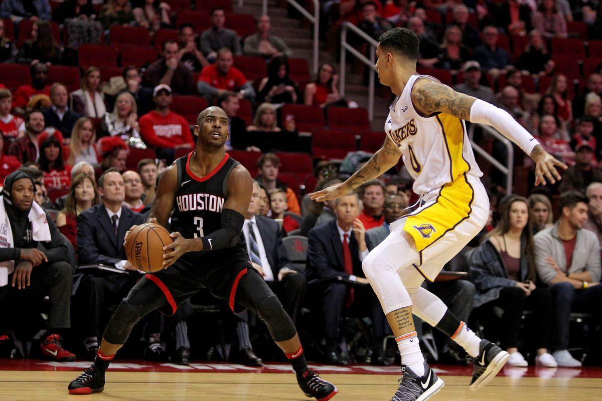 Kết quả trực tiếp NBA 2018-19: LA Lakers 115-124 Houston Rockets - Ảnh 9.