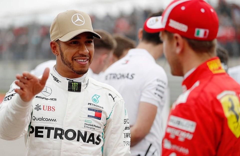 Đua phân hạng US GP: Không gì cản nổi Lewis Hamilton - Ảnh 3.