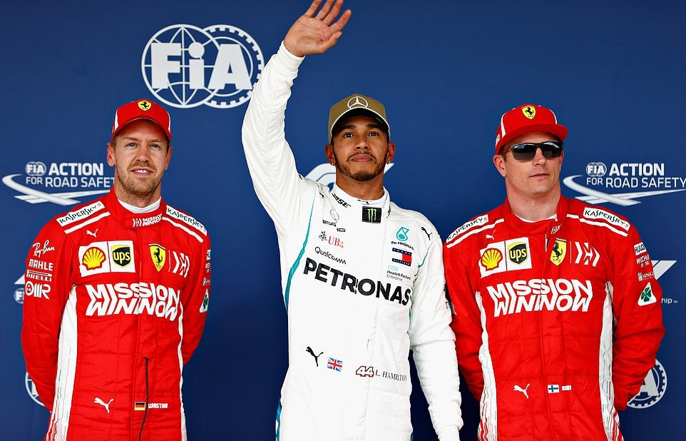 Đua phân hạng US GP: Không gì cản nổi Lewis Hamilton - Ảnh 1.