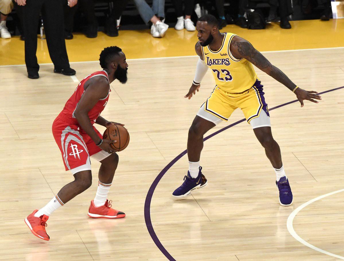 Kết quả trực tiếp NBA 2018-19: LA Lakers 115-124 Houston Rockets - Ảnh 6.