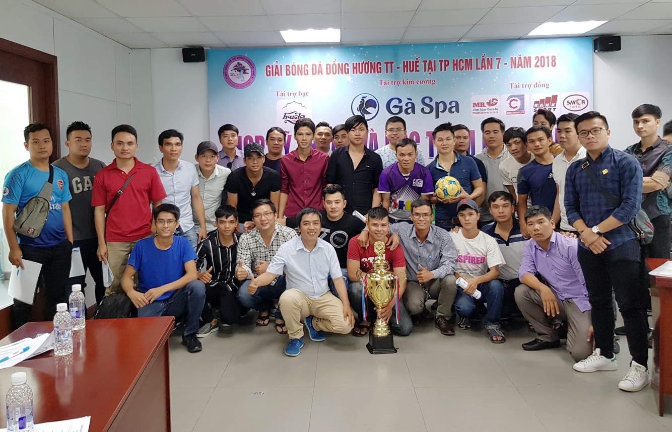 Cầu thủ chuyên nghiệp hội tụ Giải đồng hương Huế - Ảnh 1.