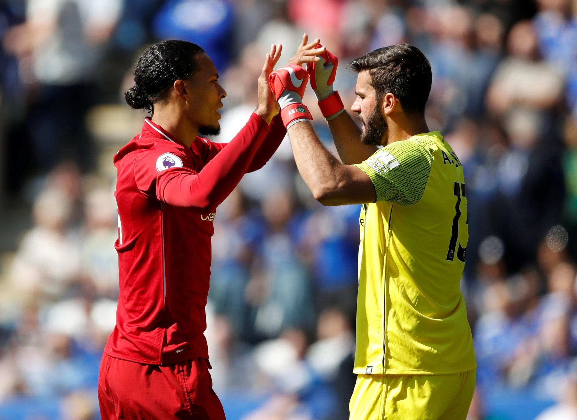2 thống kê kinh ngạc cho thấy tầm quan trọng của Alisson và Van Dijk đối với Liverpool - Ảnh 1.