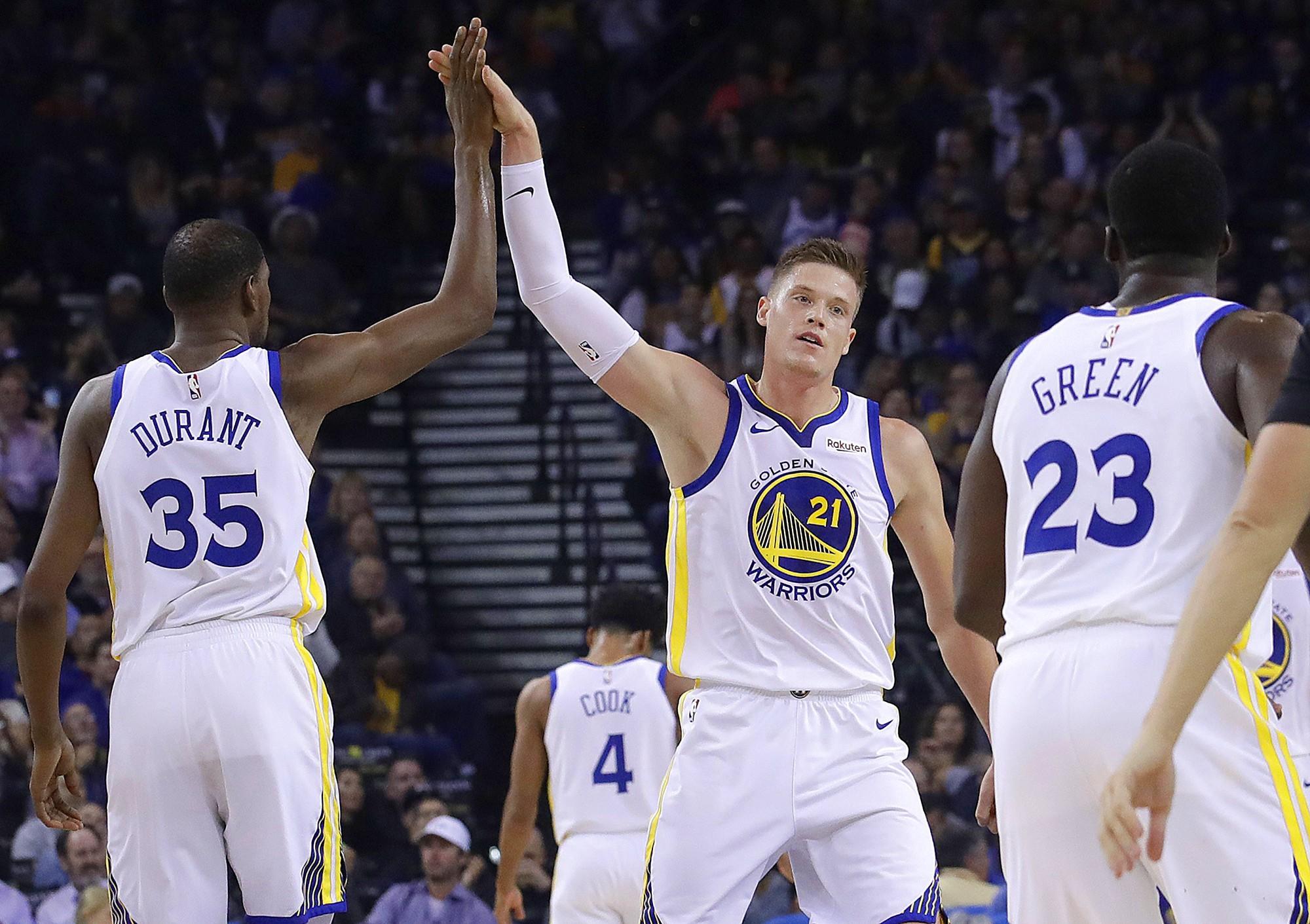 Trong lúc Golden State Warriors thăng hoa, Kevin Durant lại phát ngôn khiến Dub Nation hoang mang tột độ - Ảnh 1.