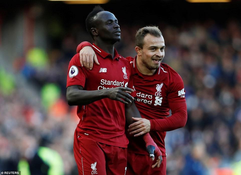 Choáng với tốc độ đóng góp bàn thắng của Shaqiri cho Liverpool mùa này - Ảnh 1.