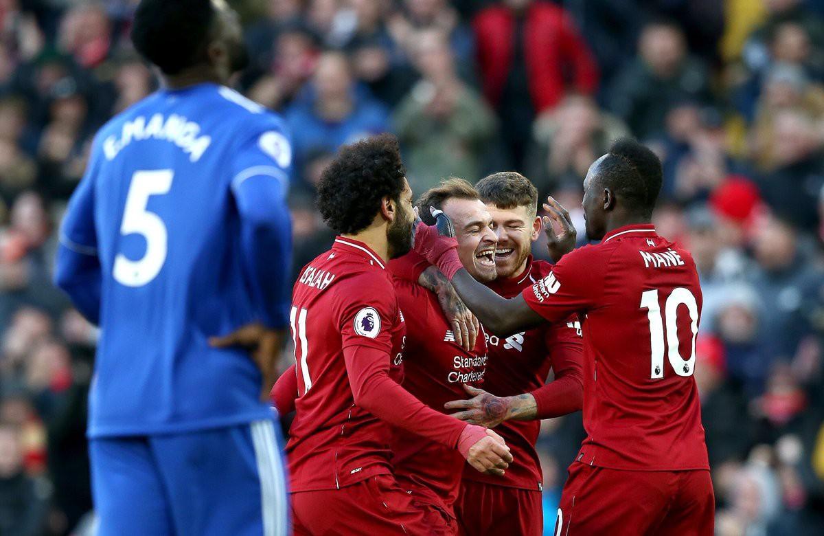 Choáng với tốc độ đóng góp bàn thắng của Shaqiri cho Liverpool mùa này - Ảnh 4.