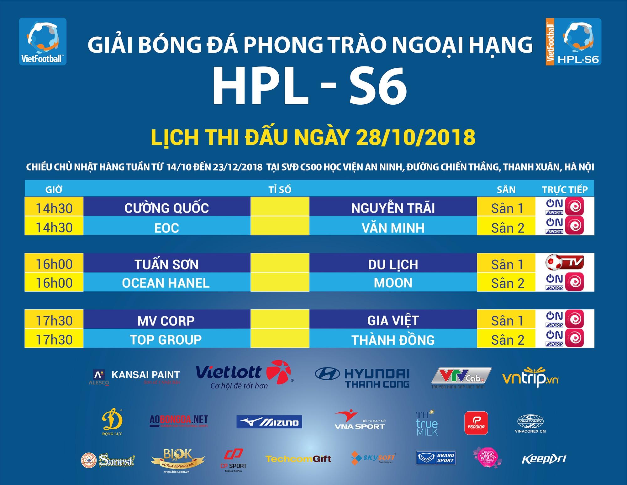 Vòng 3 HPL-S6: Những cuộc đối đầu duyên nợ và sao gặp sao - Ảnh 4.
