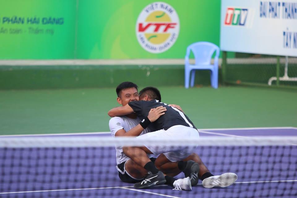 Vé đặc cách đưa Hoàng Nam và Quốc Khánh vô địch Vietnam F4 Futures 2018 - Ảnh 1.
