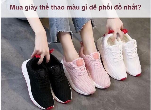 Giày thể thao màu gì dễ phối đồ nhất?  - Ảnh 6.