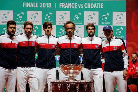 Pháp không được đánh giá cao khi tiếp đón Croatia trong trận chung kết Davis Cup - Ảnh 1.