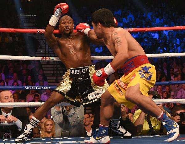 Huyền thoại boxing Manny Paccquiao hóa ra chẳng phải tay vừa trong bóng rổ - Ảnh 1.